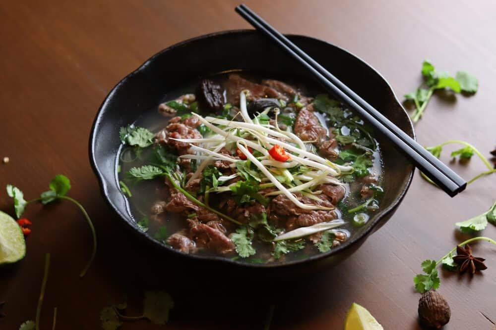 Vietnamesisches Essen in Leipzig